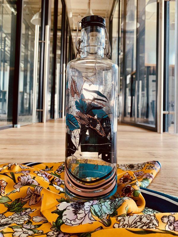 Skleněná lahev Soul Bottles - Matka Zem