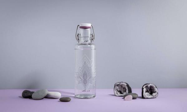Skleněná lahev Soul Bottles - Lotos