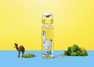 Skleněná láhev Soul Bottles Alpaqua