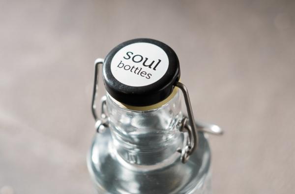 Skleněná lahev Soul Bottles - víčko