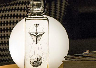 Skleněná lahev s duší - Geometrie