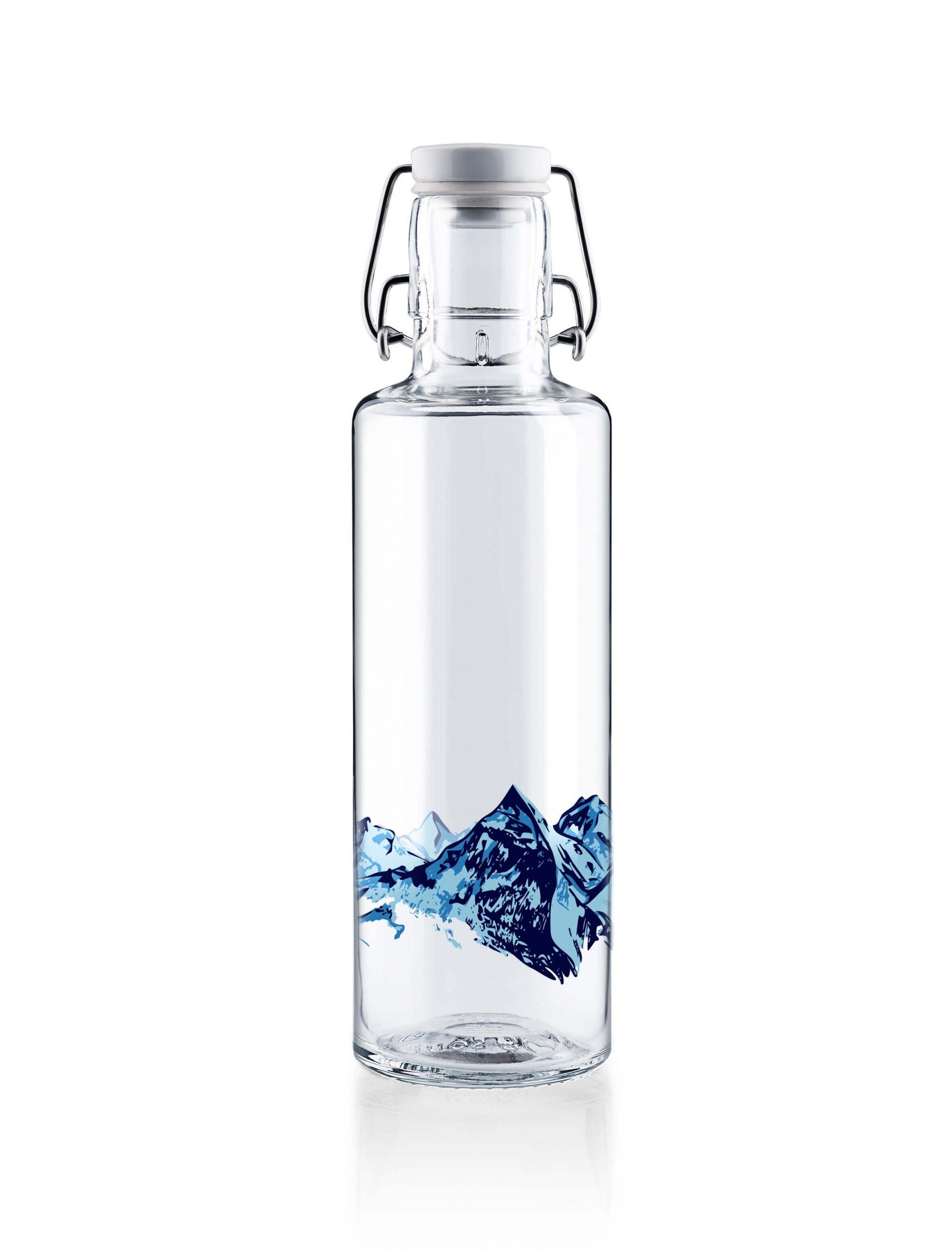 Skleněná lahev s duší - Alpy