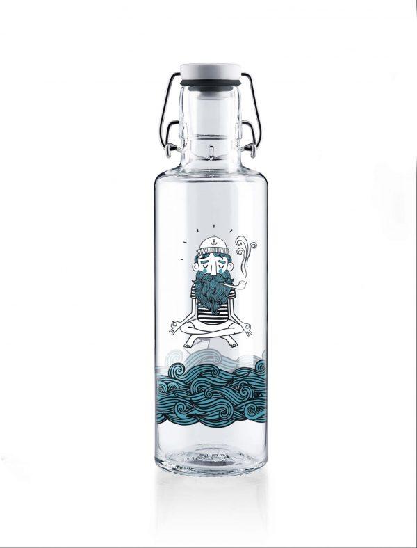 Skleněná lahev Soul Bottles - Námořník