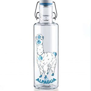 Skleněná lahev s duší - Lama