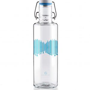 Skleněná lahev s duší - voda je lidské právo