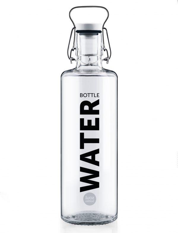 Sklenena lahev s dusi