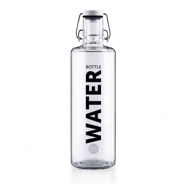 Skleněná lahev - Voda 1l 1