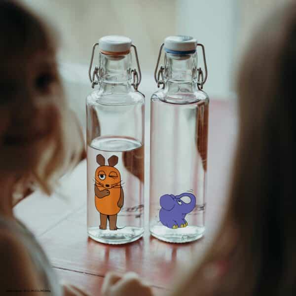 Skleněná lahev soulbottle - Myška 0,6 l 1