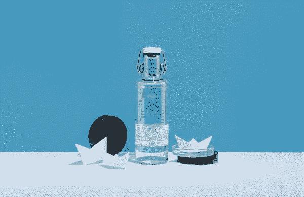 Skleněná lahev soulbottle - Jednota 0,6 l 1