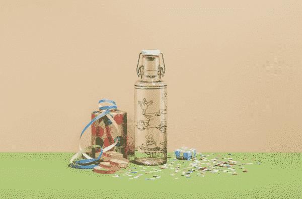 designova sklenena lahev pro deti