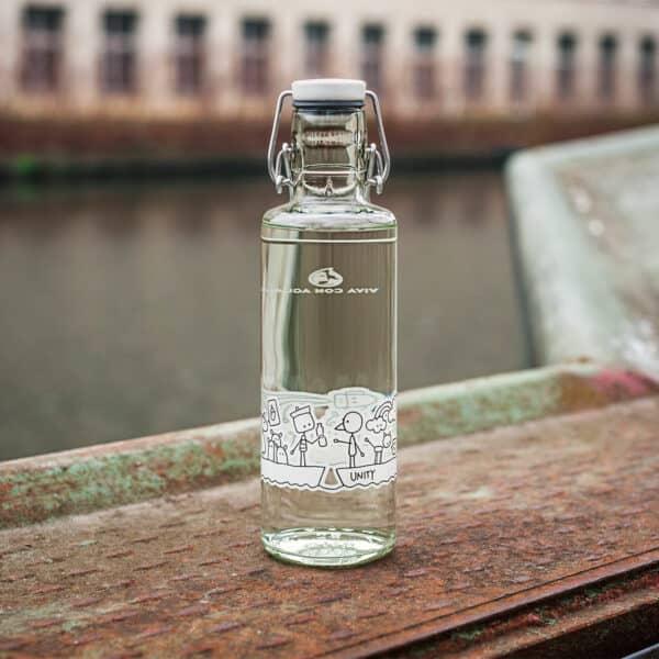 Skleněná lahev soulbottle - Jednota 0,6 l